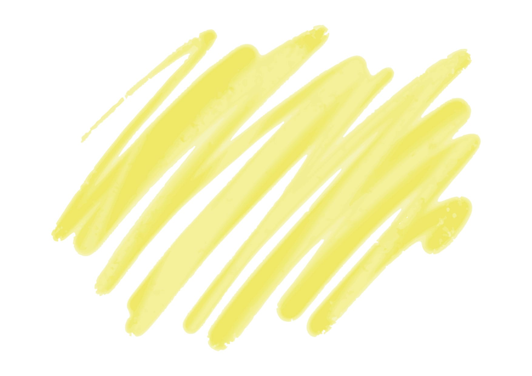 水彩 落書き 背景 黄色 イラスト 無料
