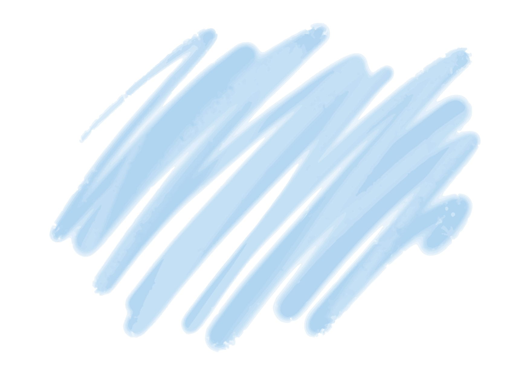 可愛いイラスト無料|水彩 落書き 背景 青色 − free illustration  Watercolor graffiti background blue