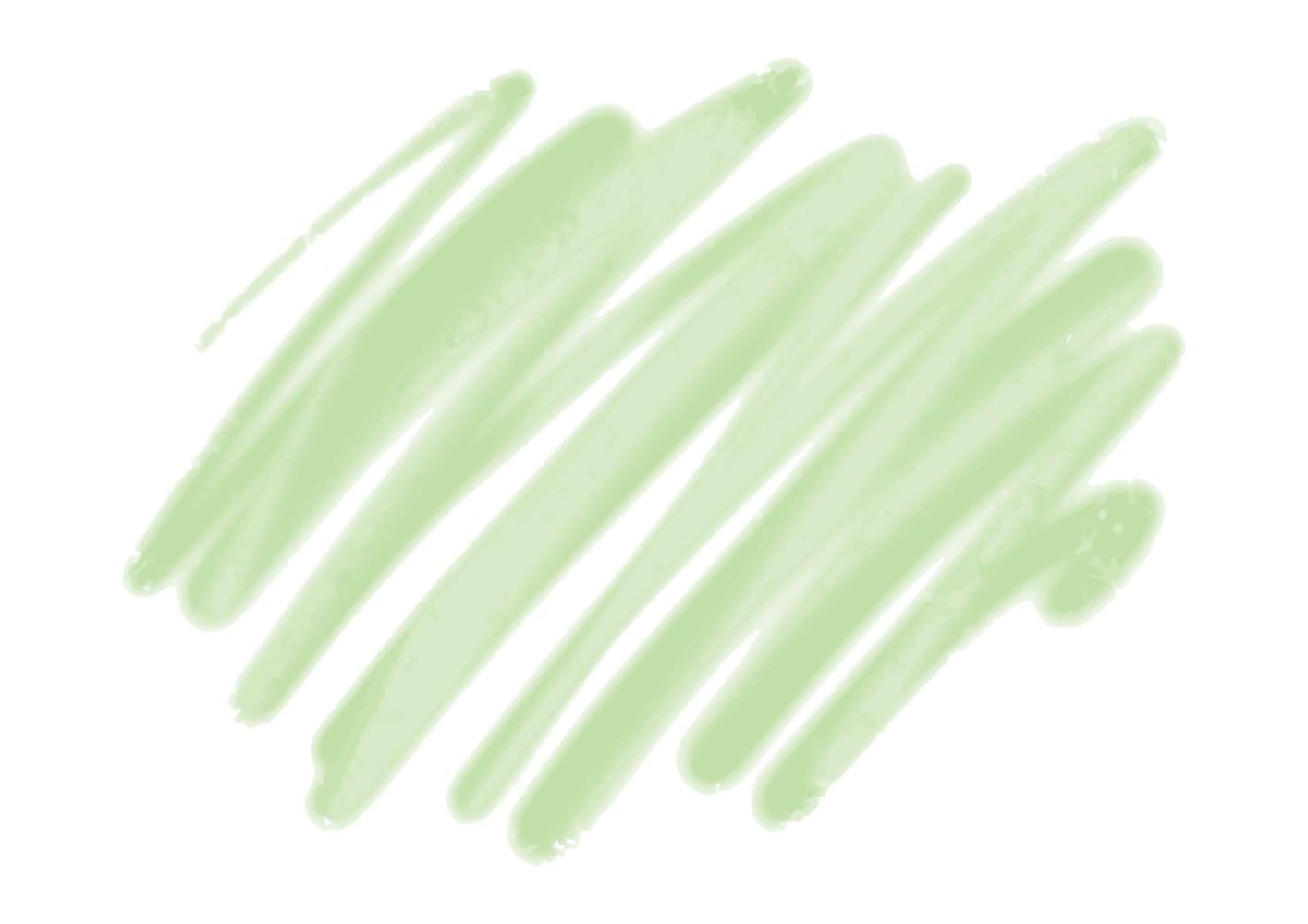 水彩 落書き 背景 緑色 イラスト 無料