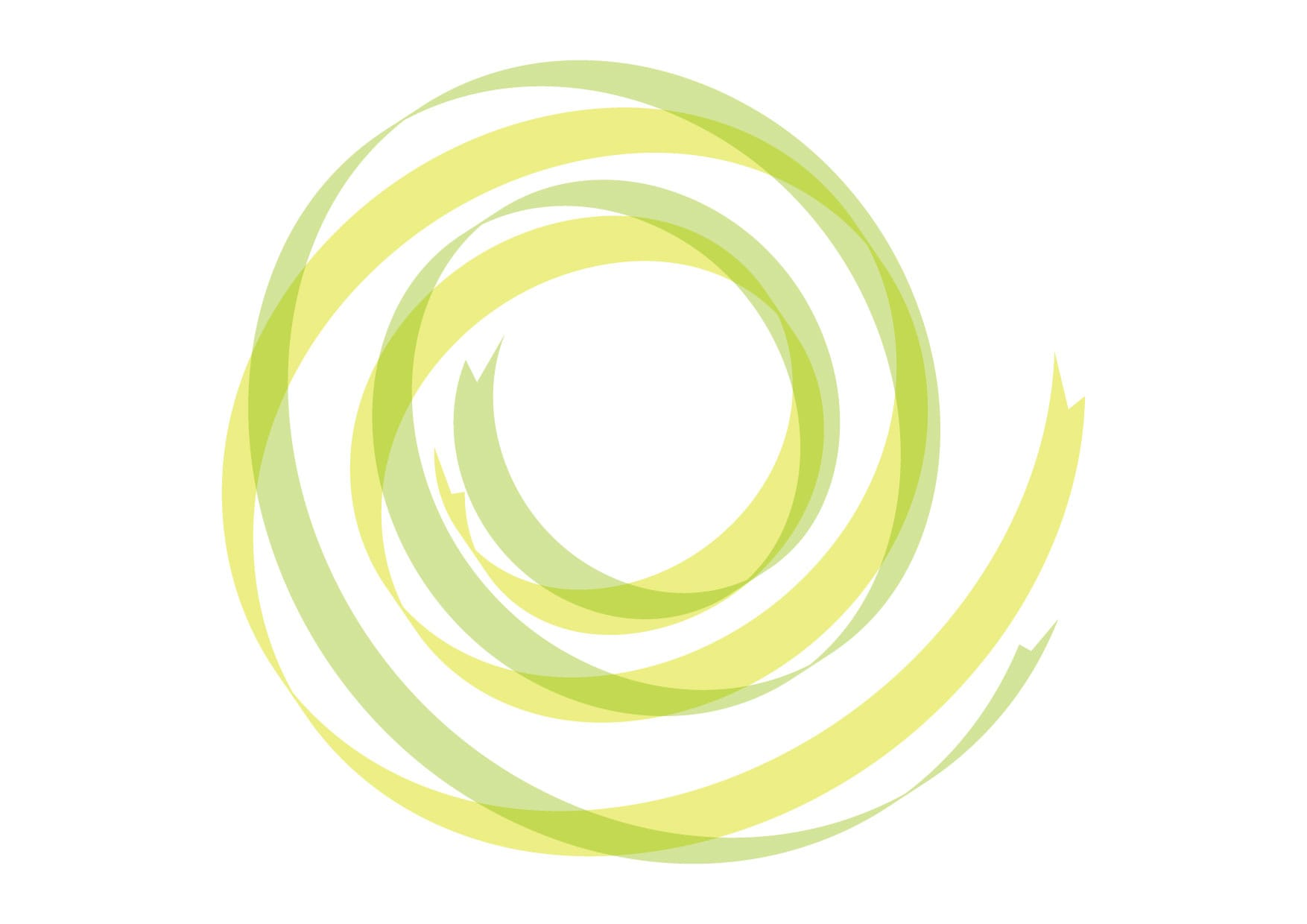 可愛いイラスト無料|リボン 背景 カール 黄色 緑色 − free illustration Ribbon background curl yellow green