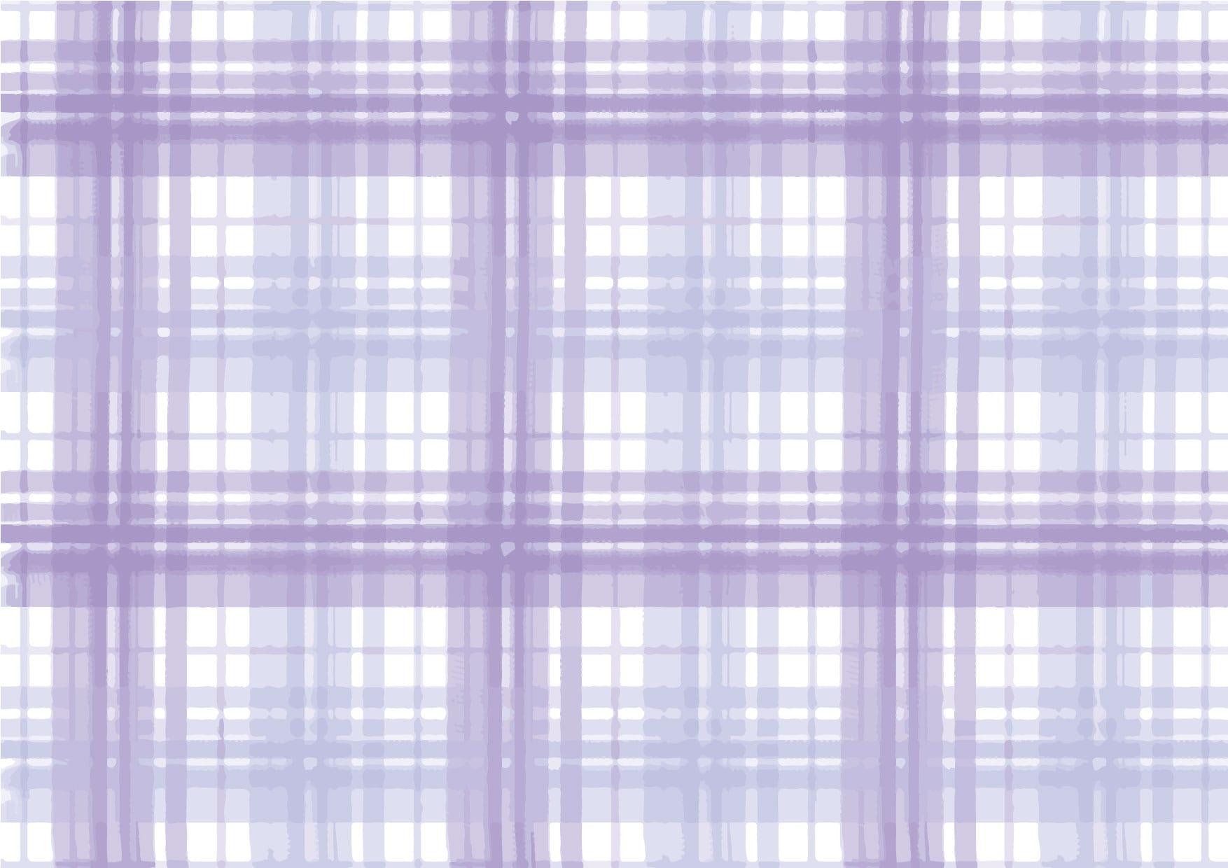 可愛いイラスト|手書き チェック柄 紫色 背景 − free illustration  Handwritten check pattern purple background