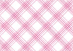 手書き チェック柄 ピンク色 背景2 イラスト 無料