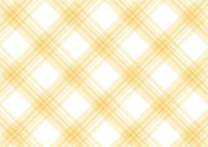手書き チェック柄 黄色 背景2 イラスト 無料