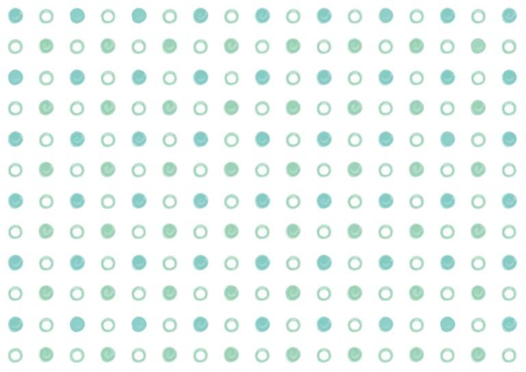 水玉 手書き 緑色 背景 イラスト 無料