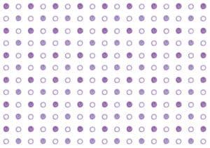 水玉 手書き 紫色 背景 イラスト 無料