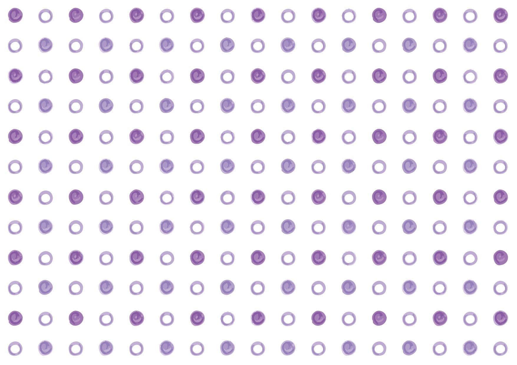 可愛いイラスト無料|水玉 手書き 紫色 背景 − free illustration Polka dot handwritten purple background