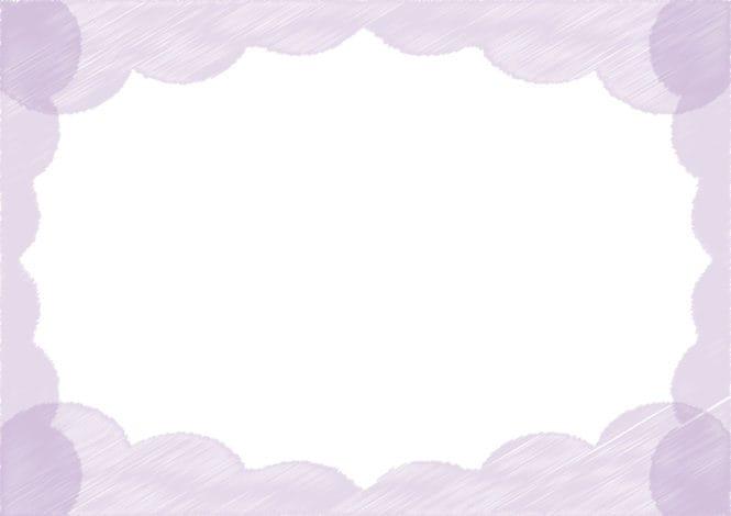 背景 雲 ラフ 紫色 イラスト 無料
