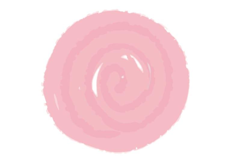水彩 背景 フレーム ピンク色 イラスト 無料