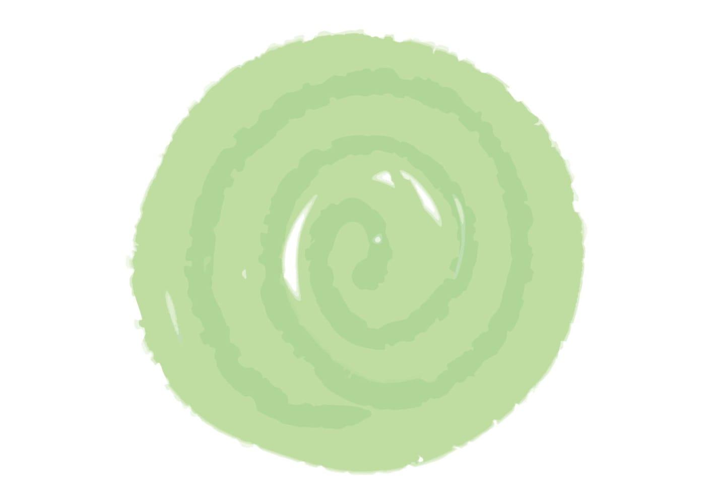 水彩 背景 フレーム 緑色 イラスト 無料
