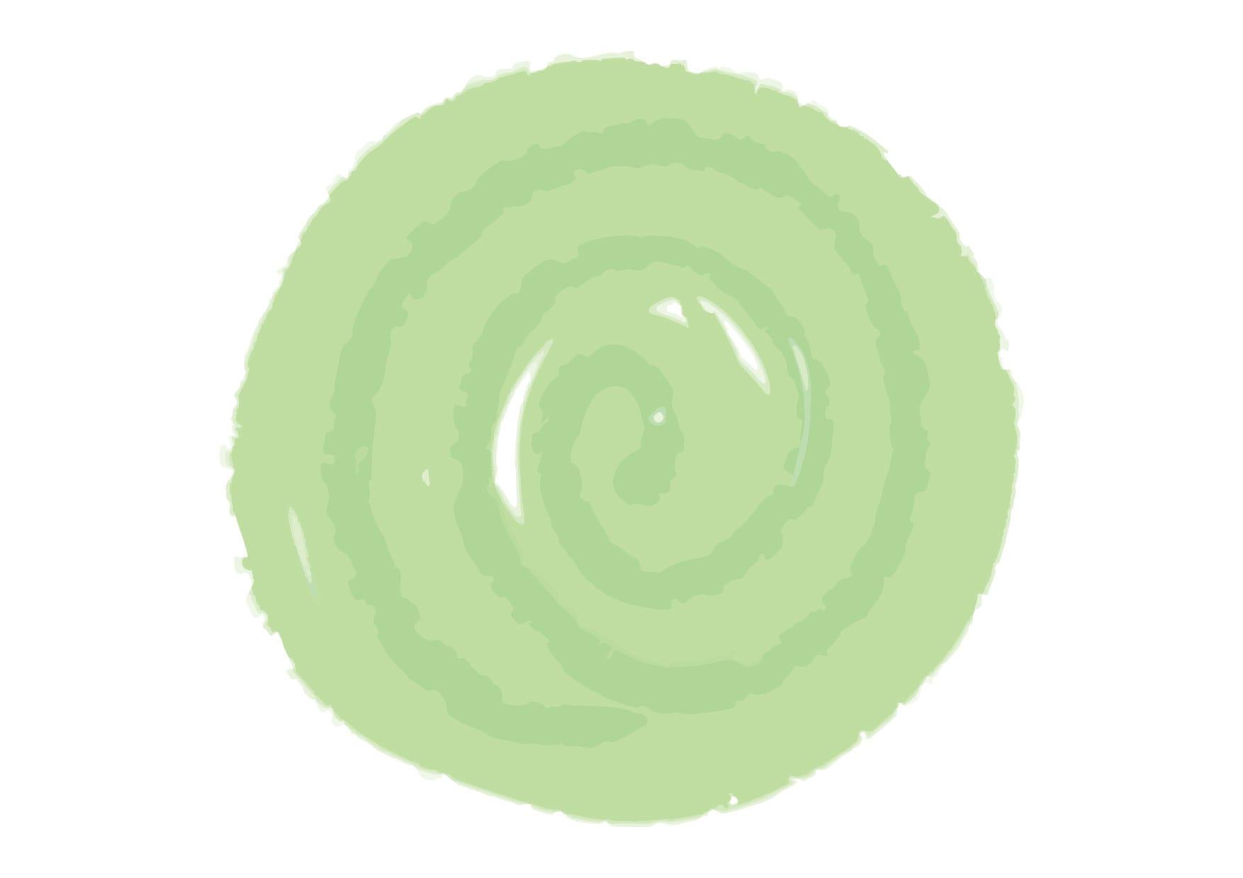 可愛いイラスト無料|水彩 背景 フレーム 緑色 − free illustration  Watercolor background frame green