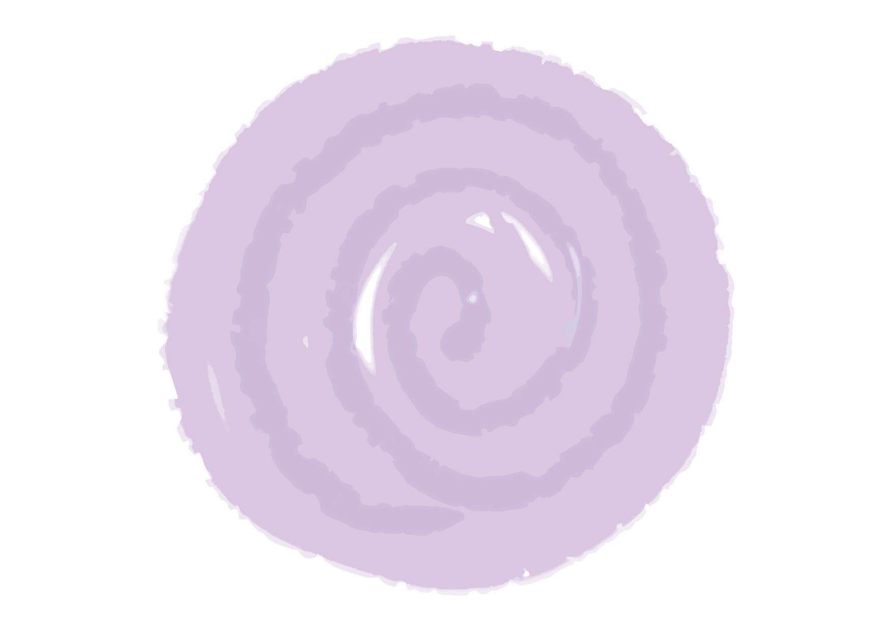 水彩 背景 フレーム 紫色 イラスト 無料