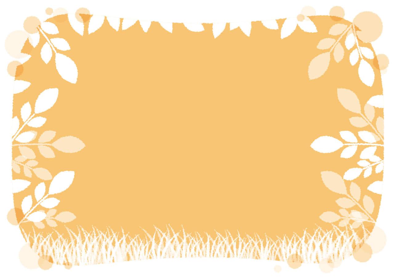 可愛いイラスト無料|若葉 夕暮れ 水彩 背景 − free illustration  Leaf dusk background