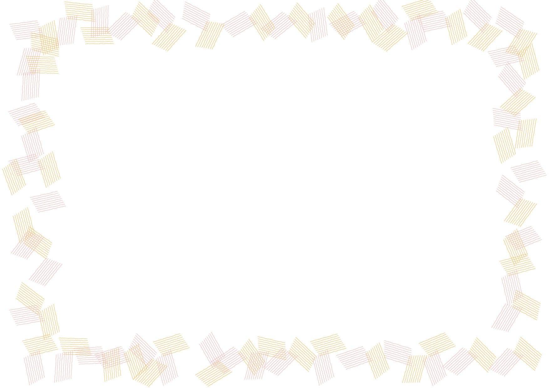 可愛いイラスト無料|背景 シンプル フレーム オレンジ色 − free illustration  Background simple frame orange