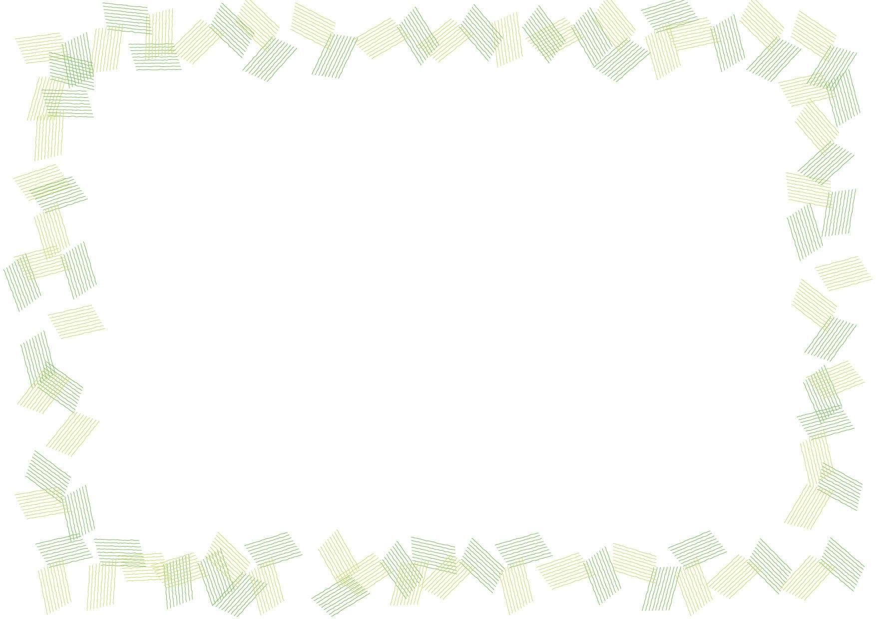 背景 シンプル フレーム 緑色 イラスト 無料