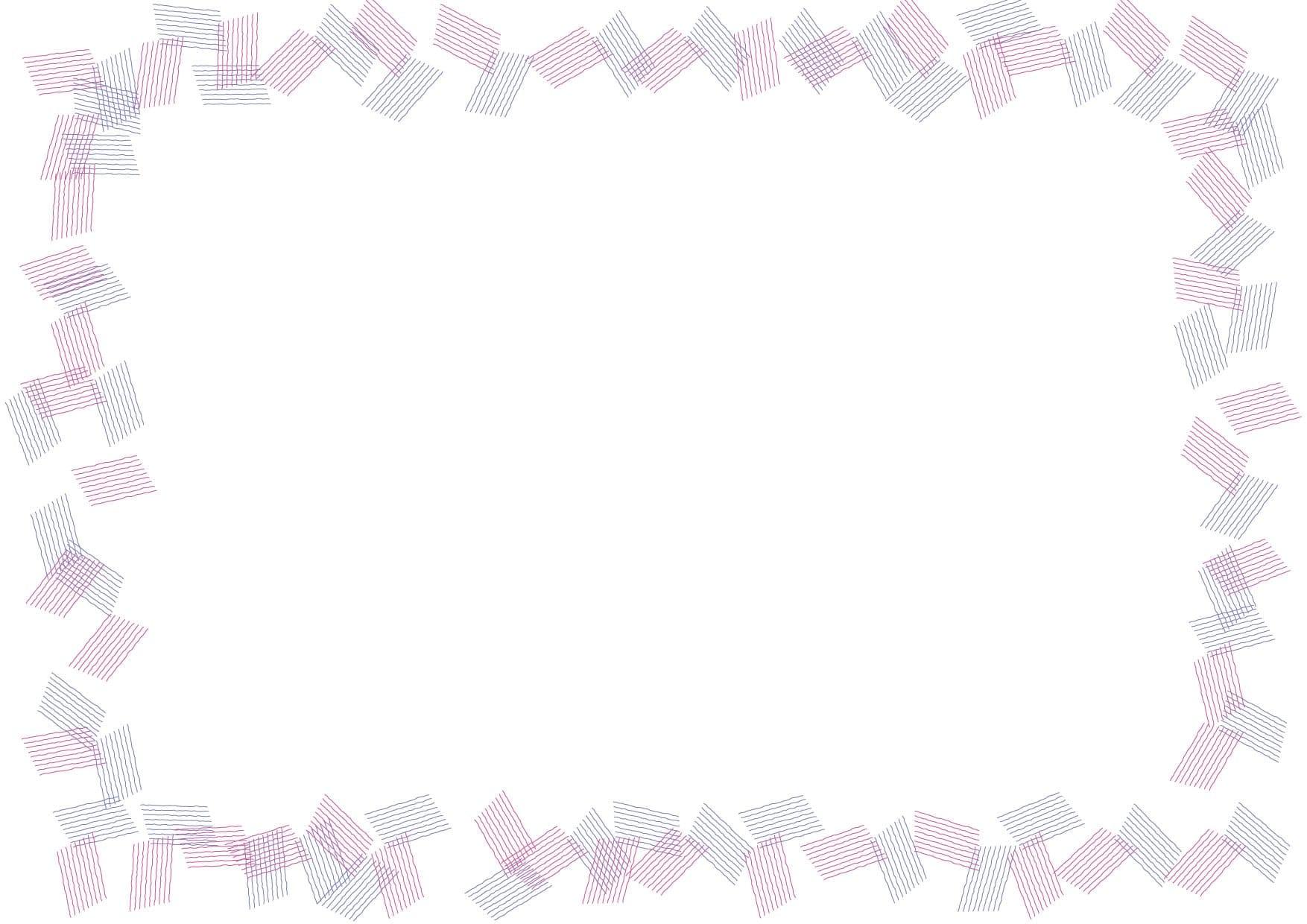 可愛いイラスト無料|背景 シンプル フレーム 紫色 − free illustration  Background simple frame purple