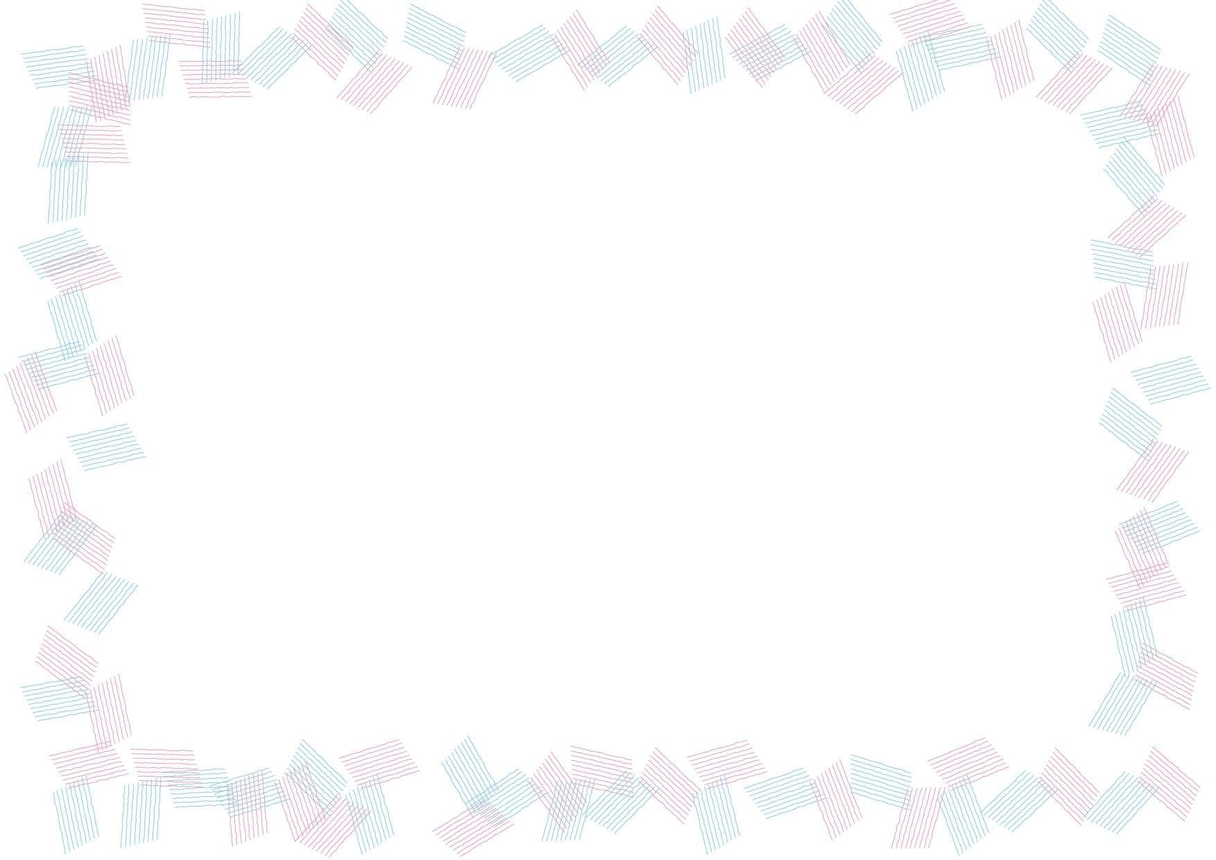 背景 シンプル フレーム ピンク色 水色 イラスト 無料