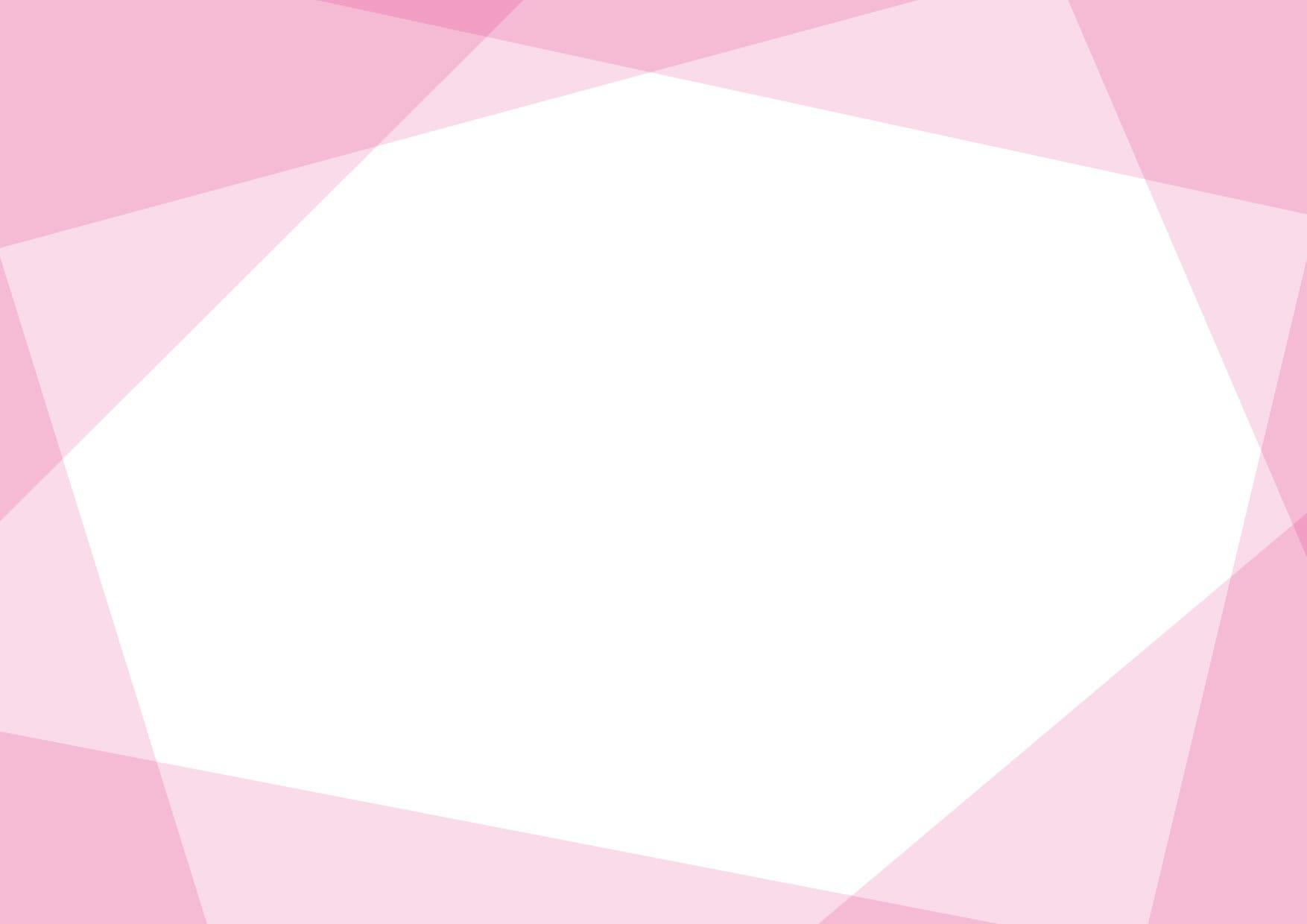 可愛いイラスト|背景 シンプル フレーム ピンク色 − free illustration  Background simple frame pink