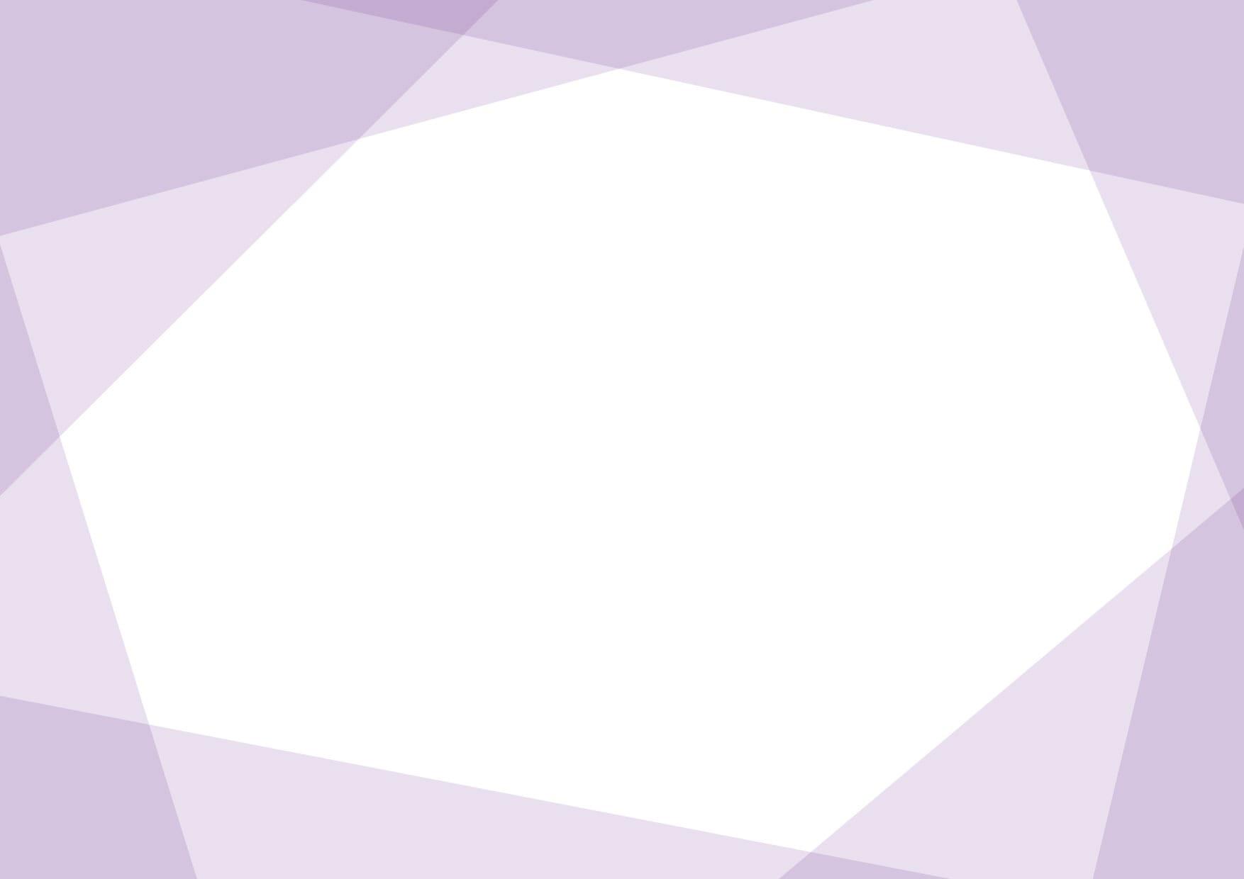 背景 シンプル フレーム 紫色 イラスト 無料