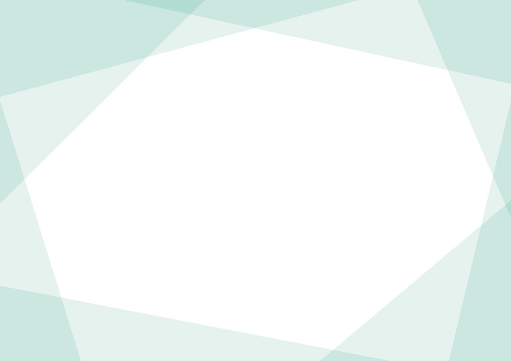 可愛いイラスト無料|背景 シンプル フレーム 緑色 − free illustration  Background simple frame green