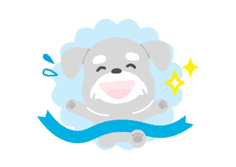 犬 マラソン イラスト 無料
