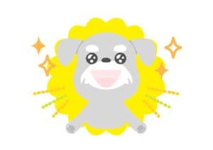 犬 キラキラ 目 イラスト 無料