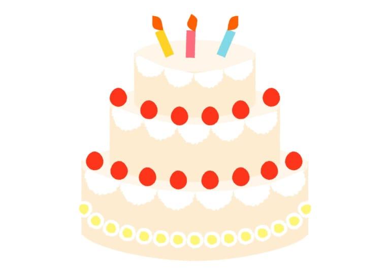 誕生日 ブライダル ケーキ イラスト 無料 無料イラストのイラスト