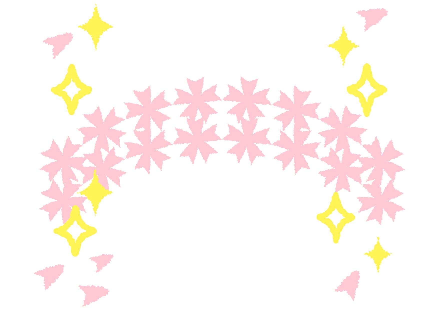 可愛いイラスト無料|桜 背景 − free illustration  Cherry blossom background