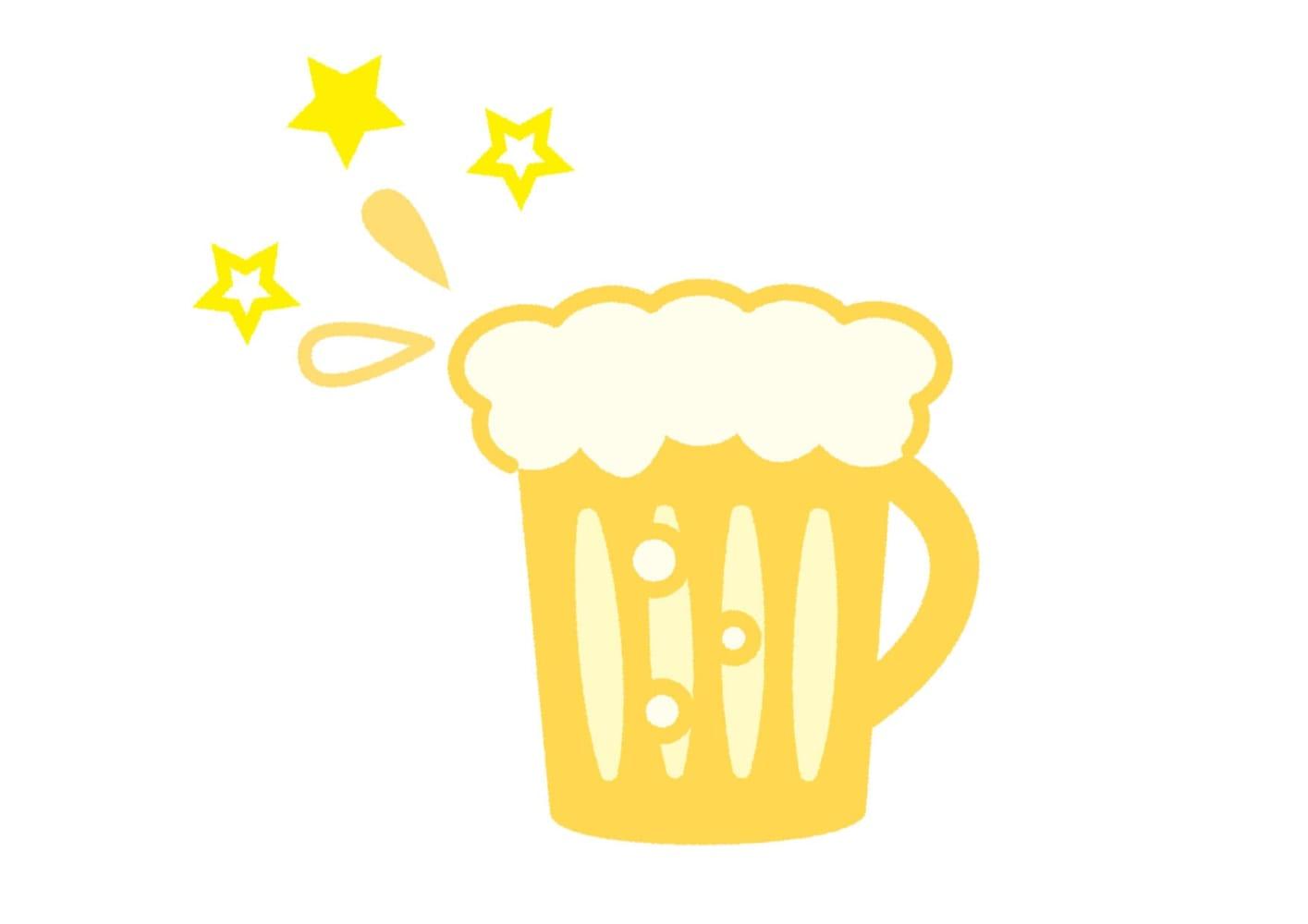ビール イラスト 無料