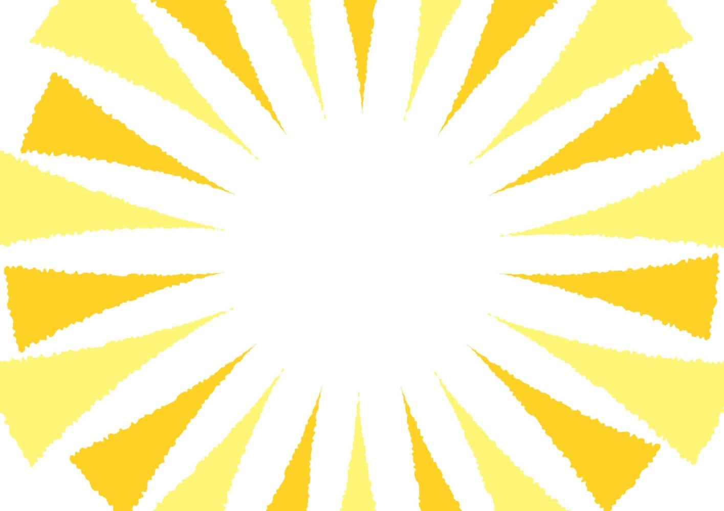 ギラギラ 背景 黄色 イラスト 無料