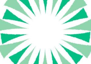 ギラギラ 背景 緑色 イラスト 無料