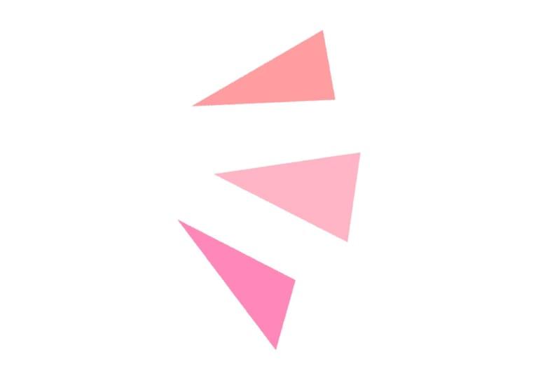 気づき アイコン 右 ピンク イラスト 無料