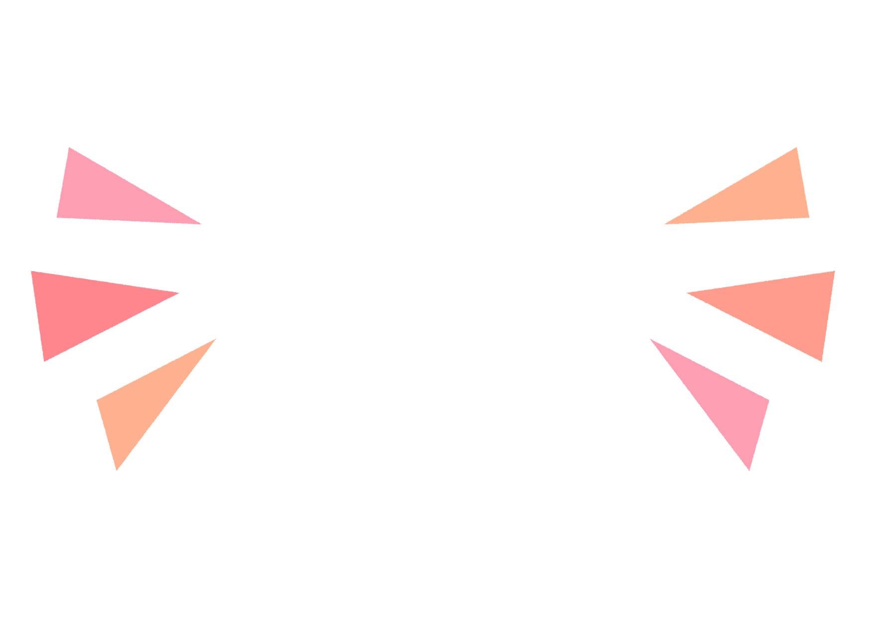 可愛いイラスト|気づき アイコン ピンク − free illustration Triangle icon pink