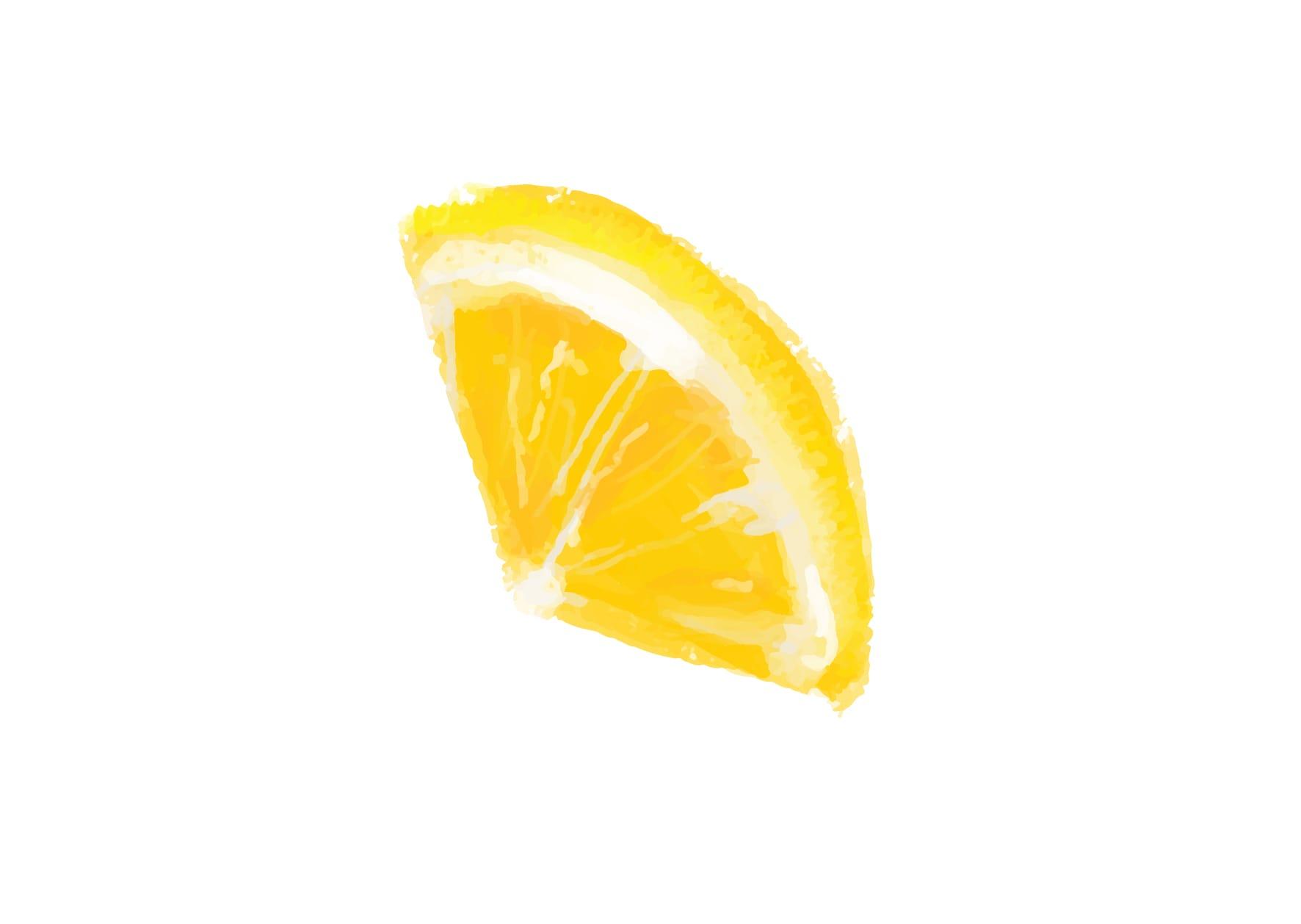 おしゃれなイラスト|手書き オレンジ 1つ2