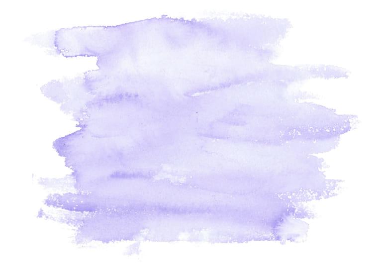 水彩 塗り 紫色 イラスト 無料