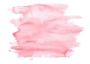 水彩 塗り 赤色 イラスト 無料