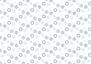 可愛い 和柄 雪の結晶柄 イラスト 無料