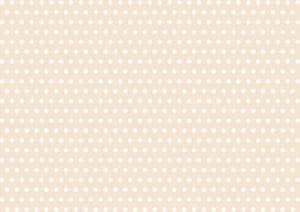 かわいい 水玉 クリーム色 背景 イラスト 無料
