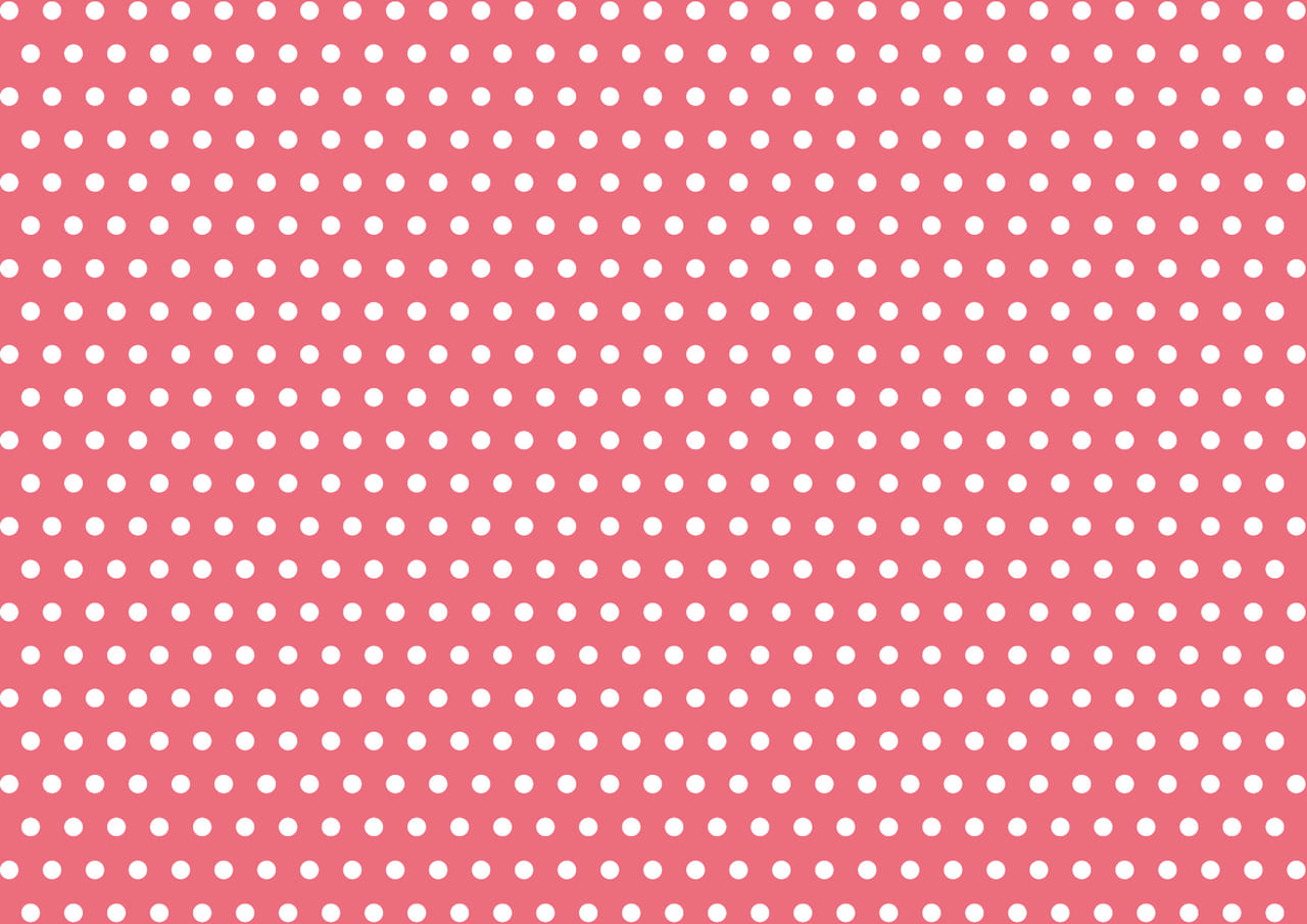 可愛いイラスト無料|水玉 ピンク色 背景