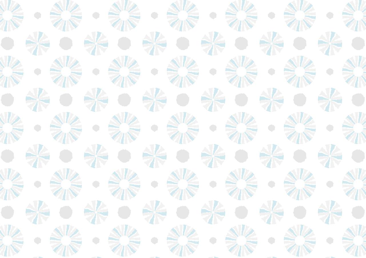 可愛いイラスト無料|背景 ラフ 円 淡いブルー グレー