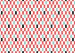 かわいい 背景 縦長の市松模様 赤色 イラスト 無料