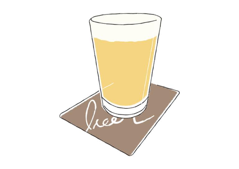 手書き クラフトビール イラスト 無料