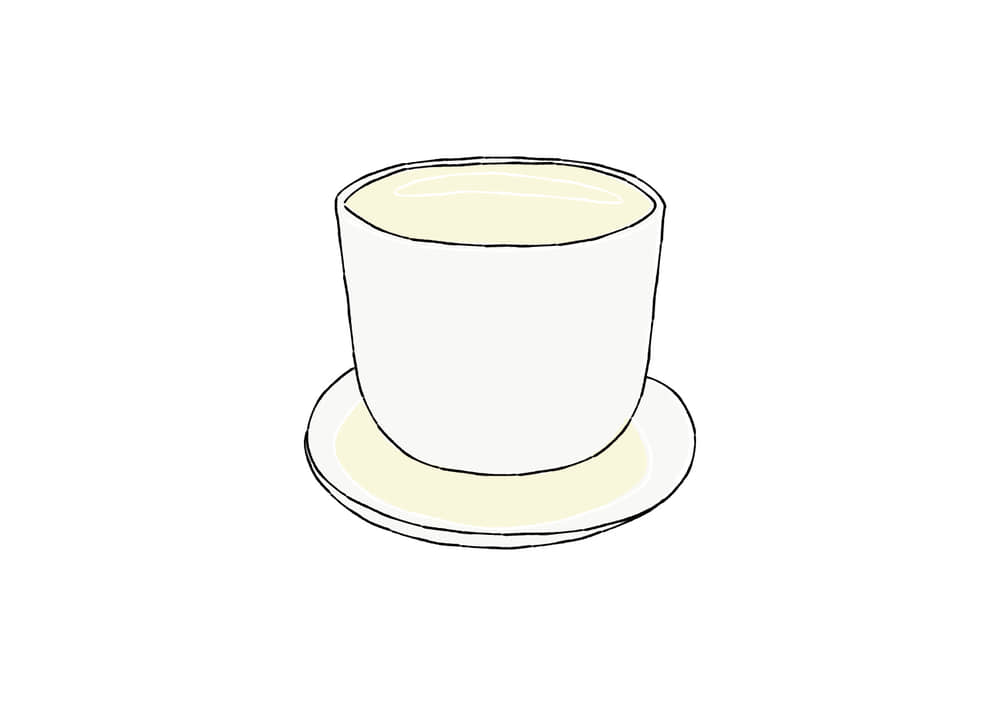 手書きイラスト無料|手書き 日本酒 お猪口