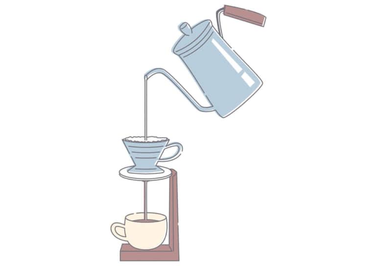 ドリップコーヒー イラスト 無料