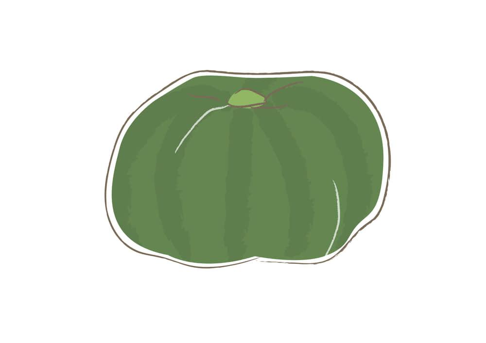 可愛いイラスト無料|野菜 カボチャ