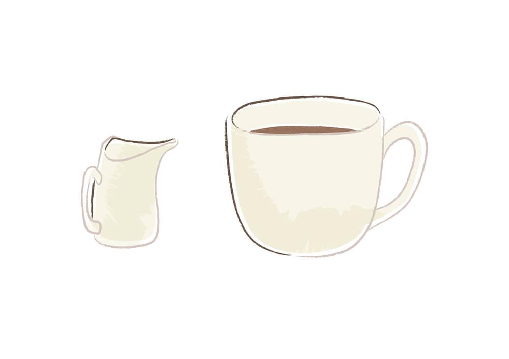 手書きイラスト無料|コーヒー フレッシュ|【公式】イラスト素材サイト「イラストダウンロード」