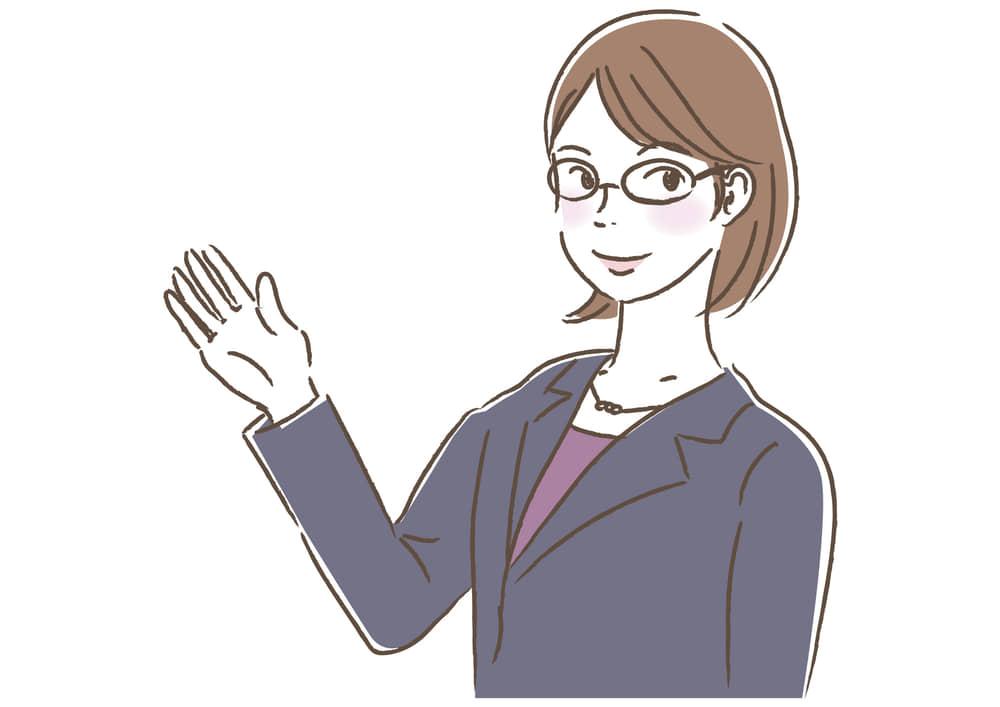 シンプルイラスト無料 ビジネス 女性 キャリアウーマン