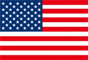 国旗 イラスト 無料|アメリカ合衆国の国旗