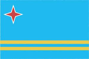 国旗 イラスト 無料|アルバの国旗