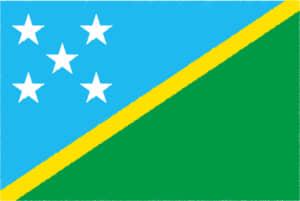 国旗 イラスト 無料|ソロモン諸島の国旗