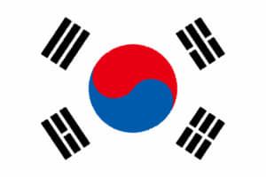 国旗 イラスト 無料|大韓民国の国旗